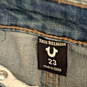 da99e058b True Religion Jeans - TRUE RELIGION DENIM JEANS ATHLETIC SIZE 23